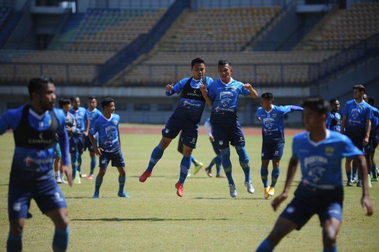 Latihan Persib. (foto :Persib official)